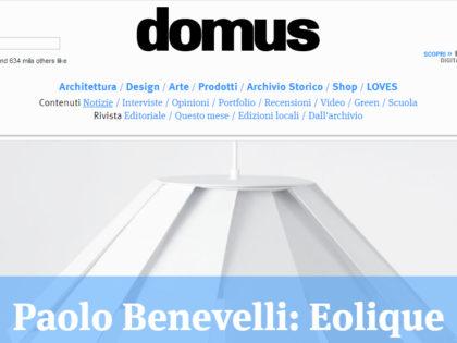 Domus, dicembre 2015