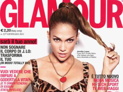 Glamour, gennaio 2011