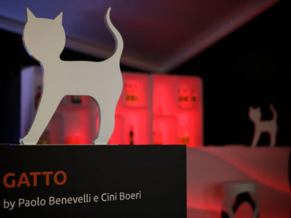 """Gatto"" al Salone del Mobile"