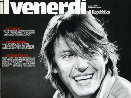 Il Venerdì di Repubblica, October 2008